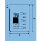 Low form beakers 1000ml