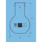 Wide  neck flat-bottom flask 250ml